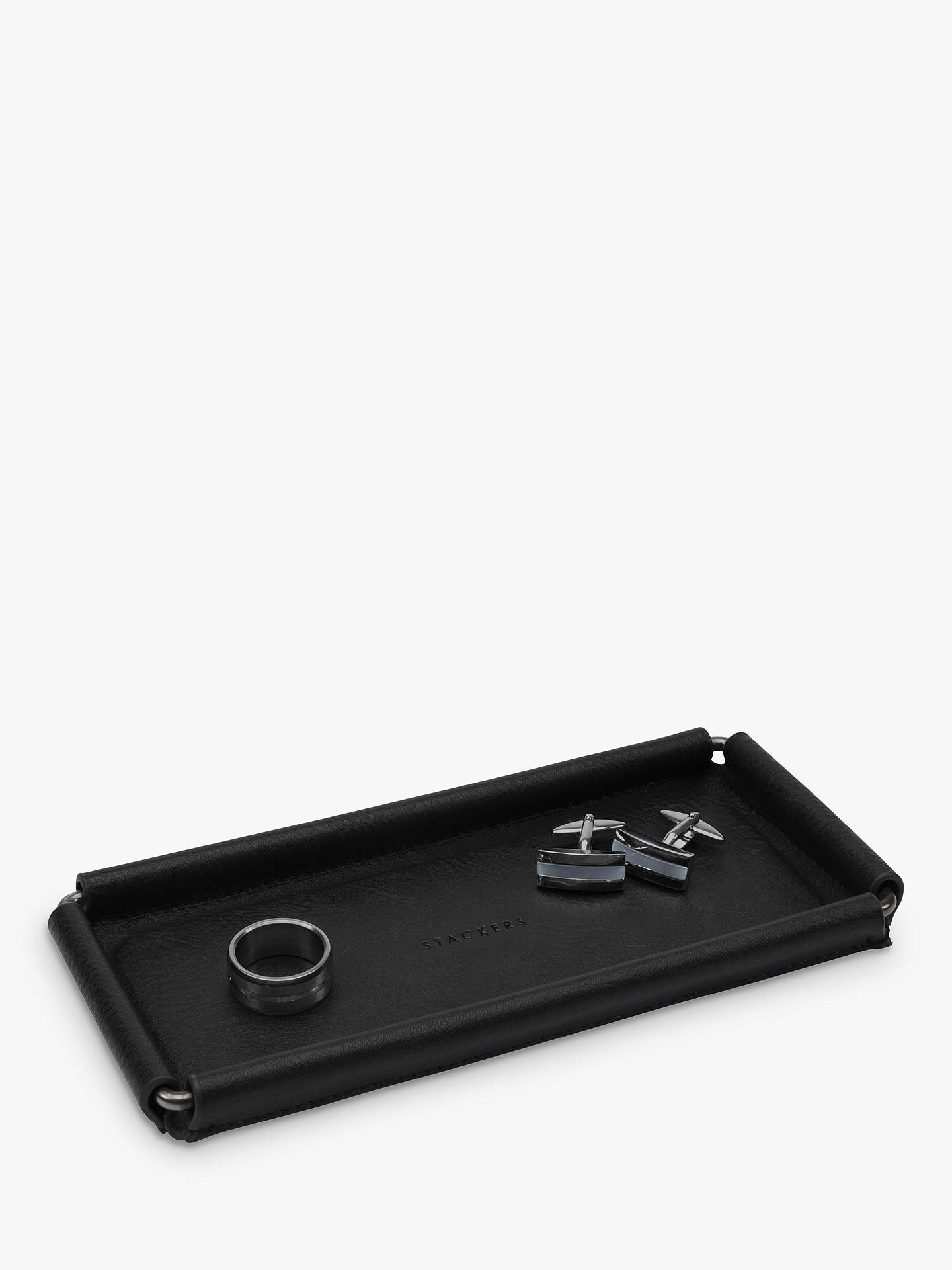 BuyStackers Catchall, Black Gunmetal Online at johnlewis.com