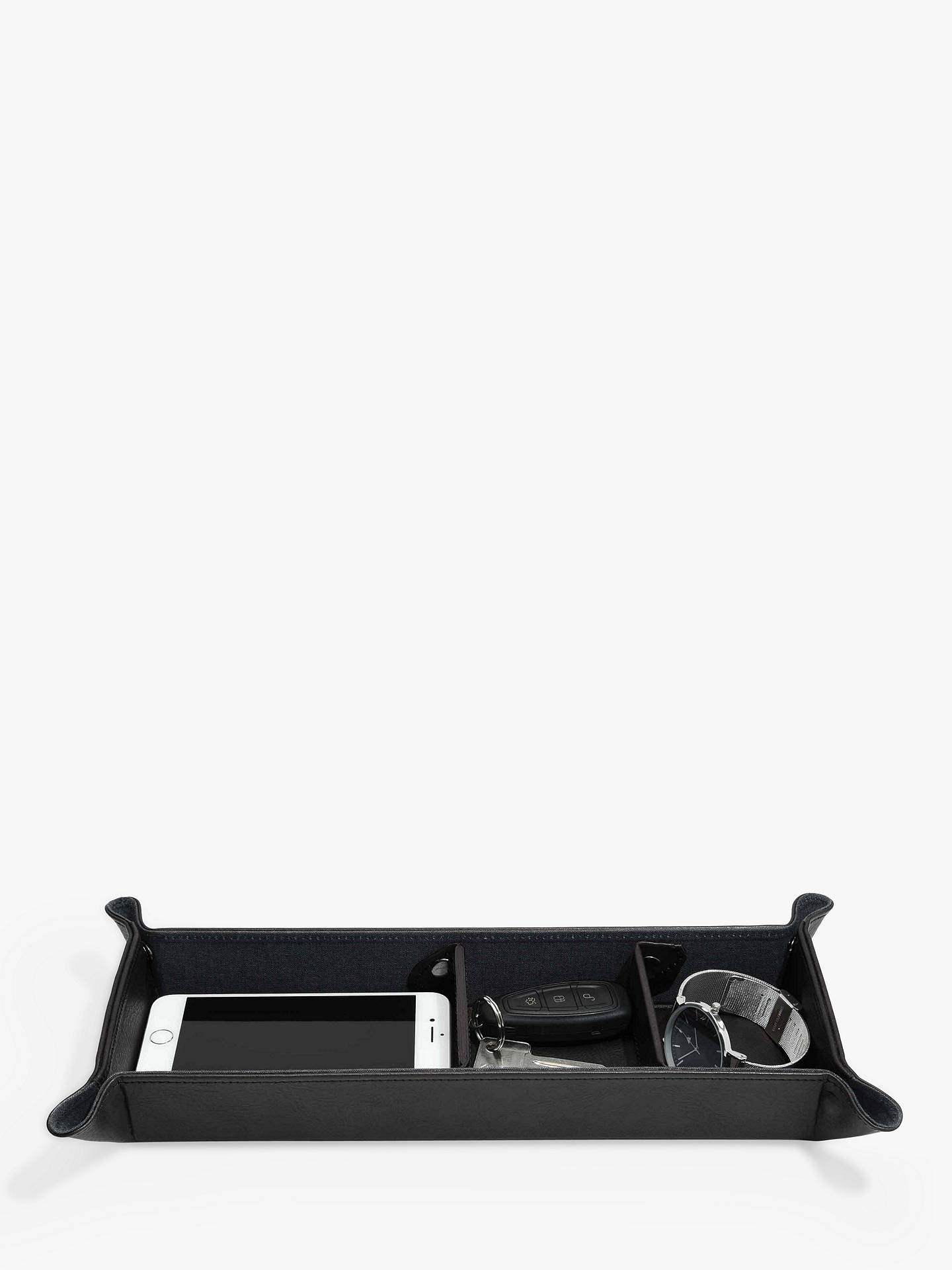 BuyStackers Large Catchall, Black Online at johnlewis.com
