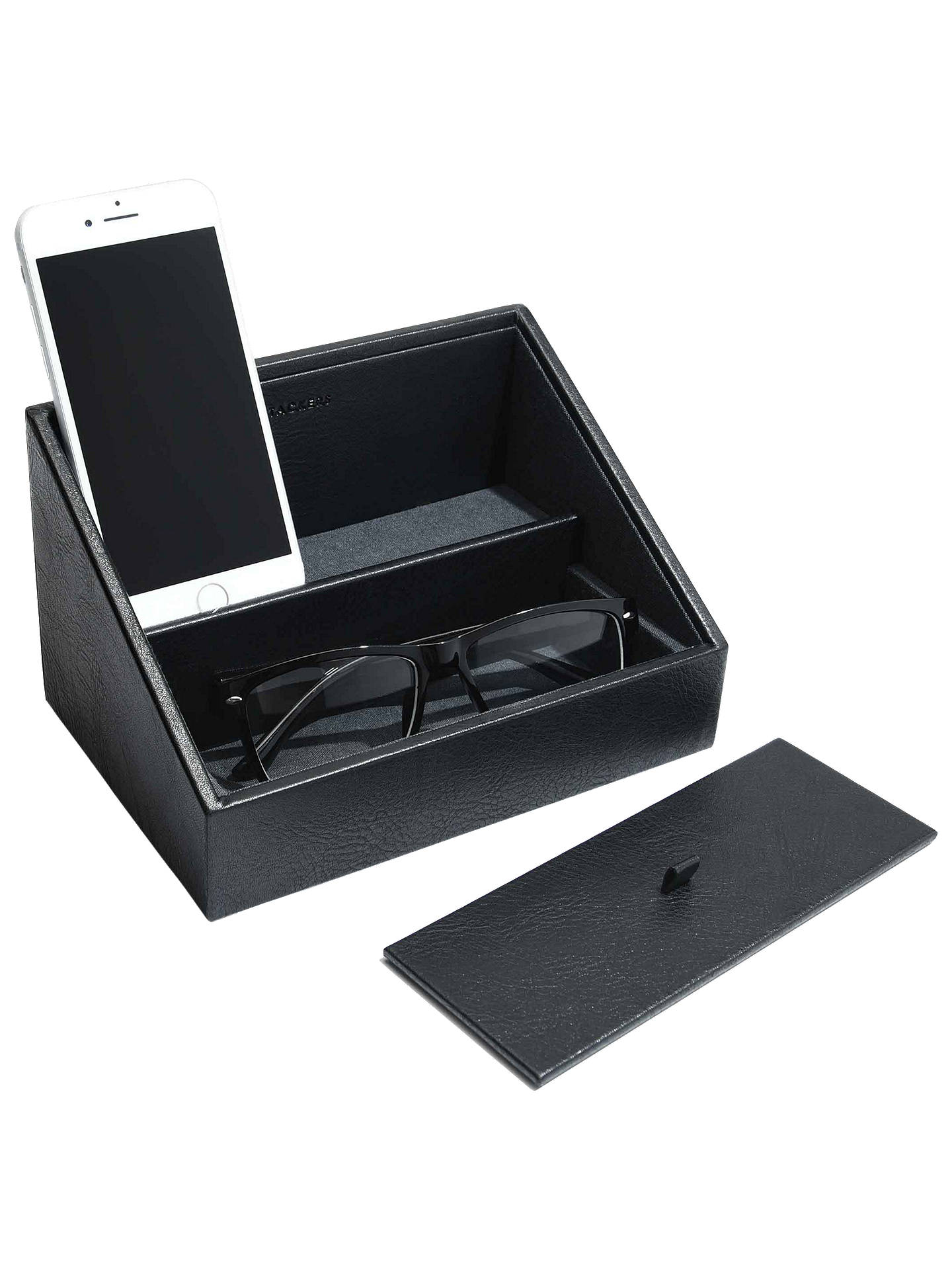 Buy Stackers Charging Storage, Black Online at johnlewis.com
