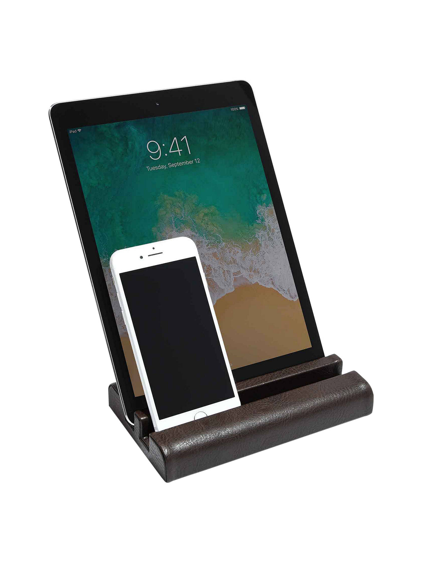 Buy Stackers Technology Stand, Brown Online at johnlewis.com