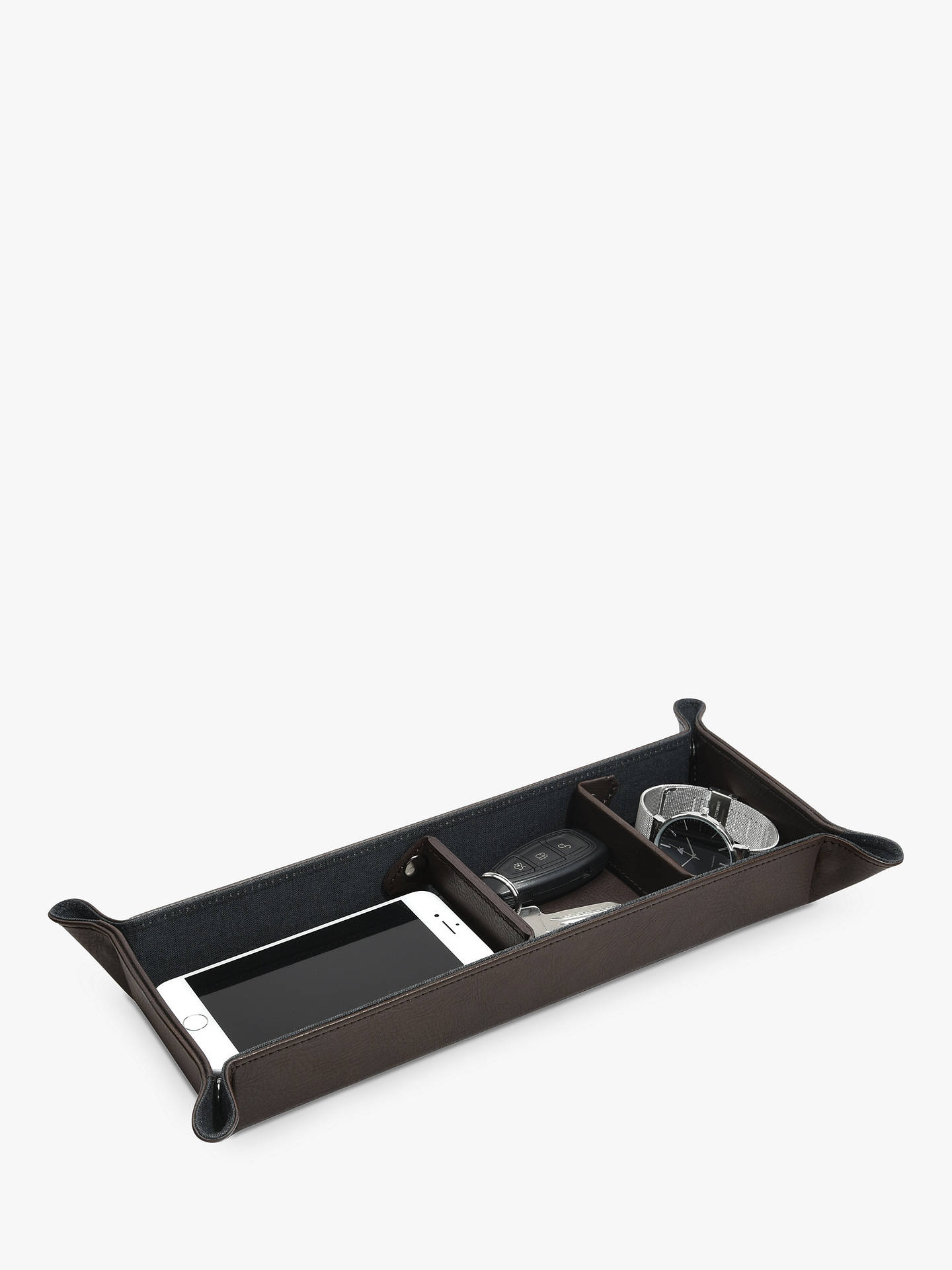 BuyStackers Large Catchall, Brown Online at johnlewis.com