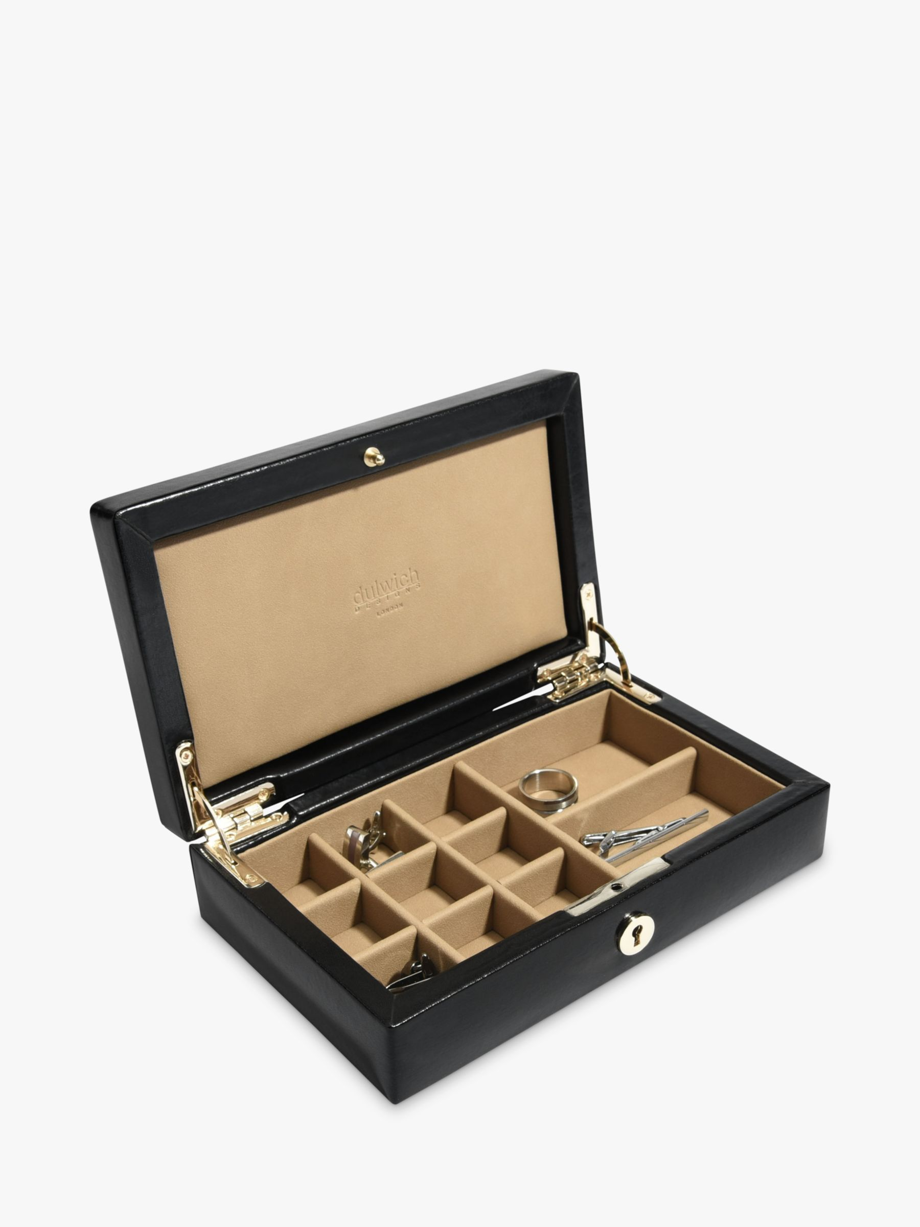 Dulwich Designs Dulwich Designs Leather Windsor Cufflinks Box