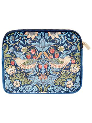 Morris & Co. Velvet Coin Purse, Blue