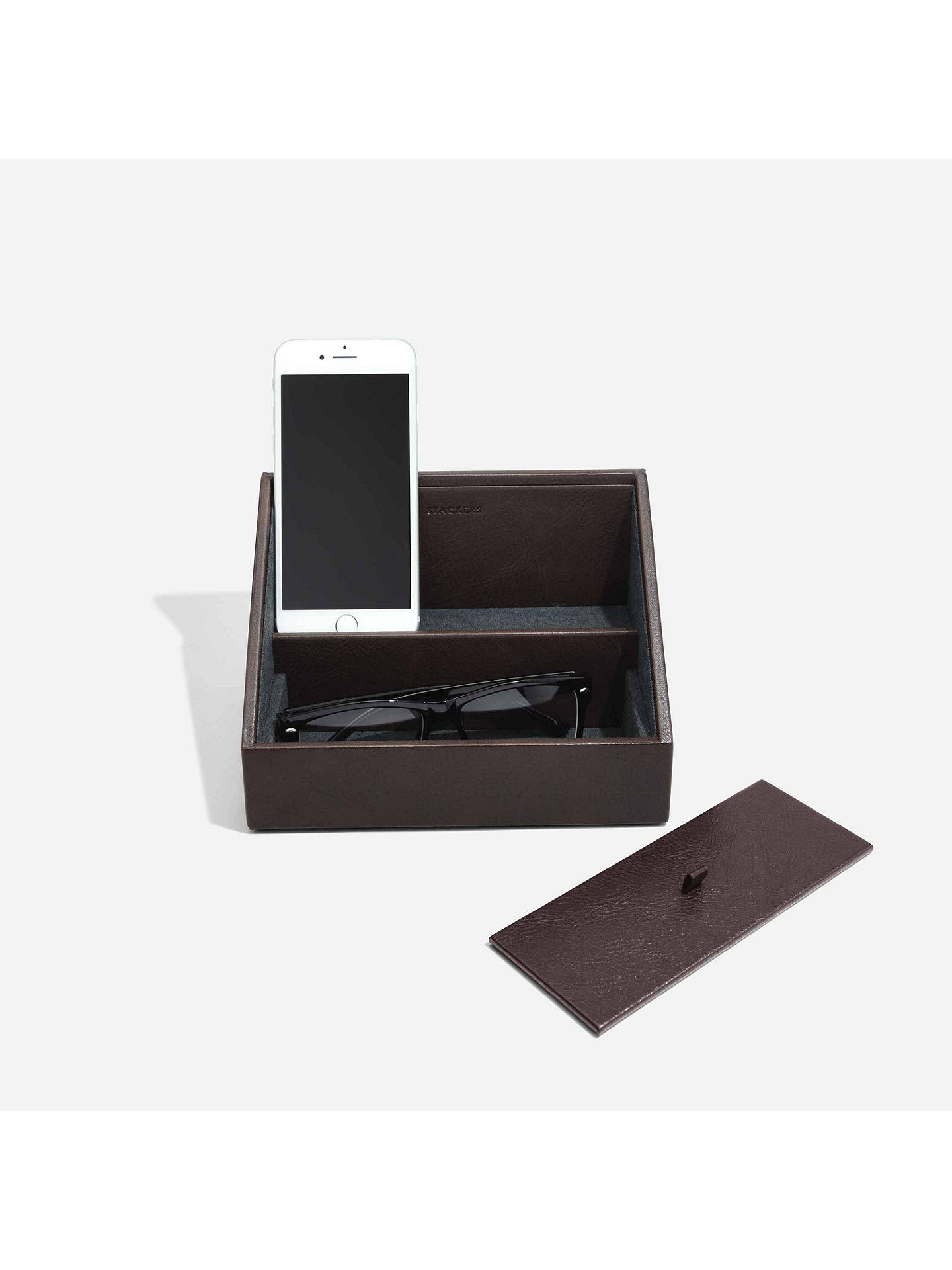 Buy Stackers Charging Storage, Brown Online at johnlewis.com