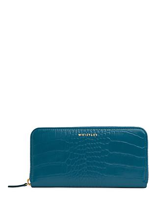 Whistles Croc Leather Purse