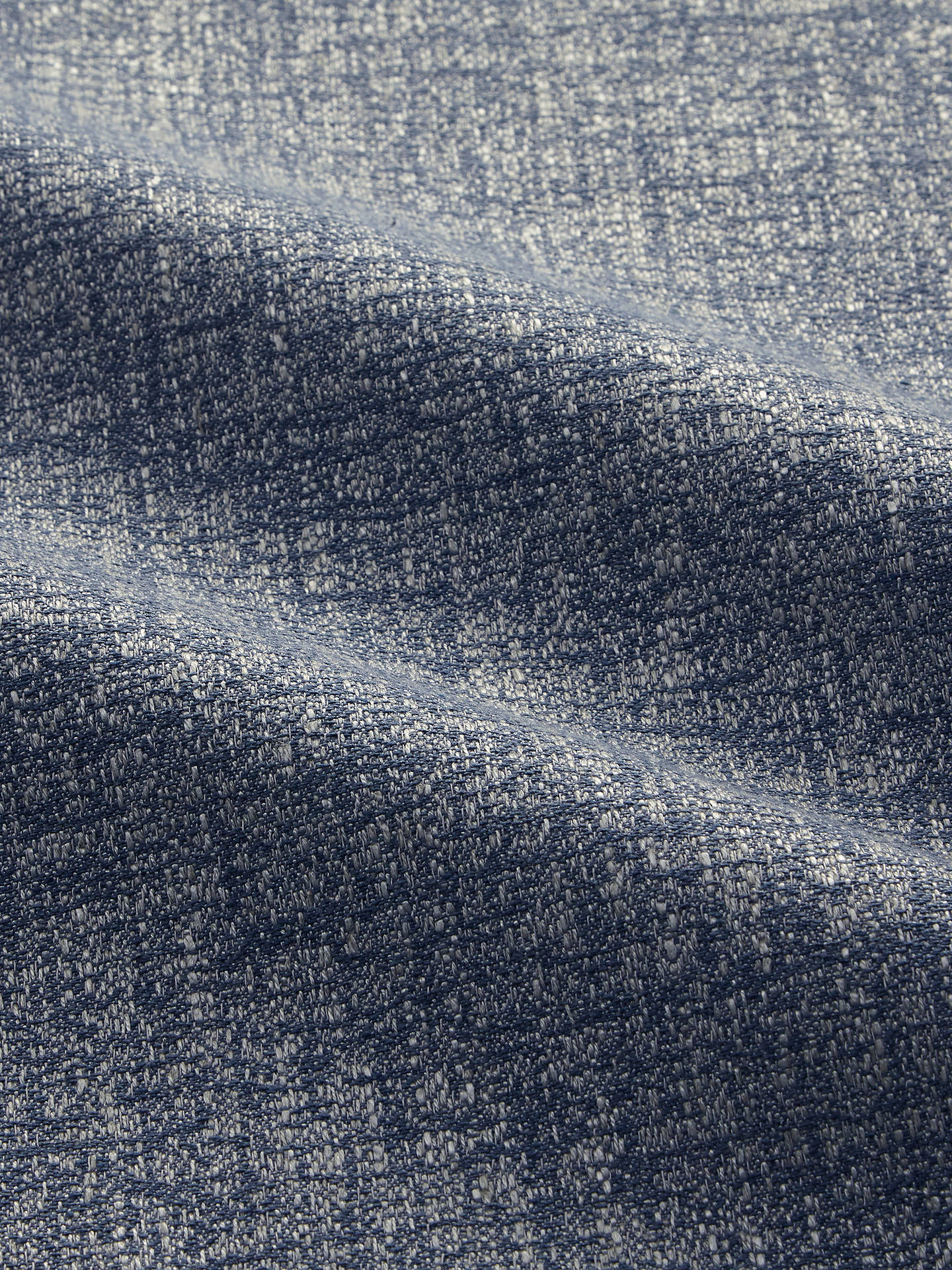 BuyJohn Lewis & Partners Darcy Plain Fabric, Blue, Price Band D Online at johnlewis.com