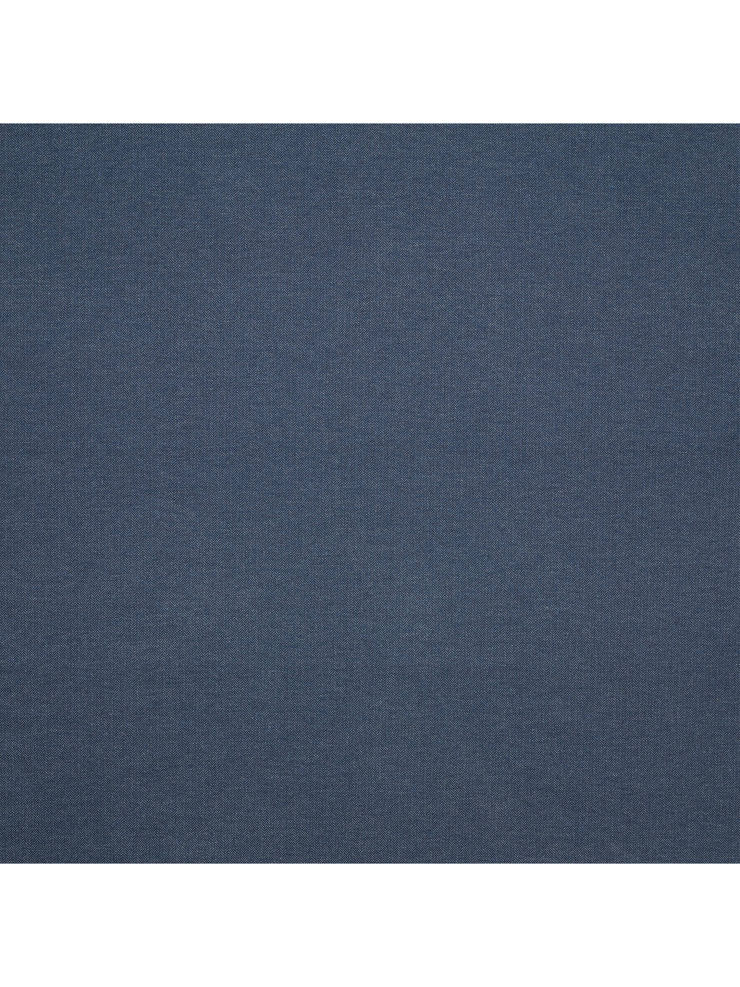 BuyJohn Lewis & Partners Farland Herringbone Fabric, Navy, Price Band C Online at johnlewis.com