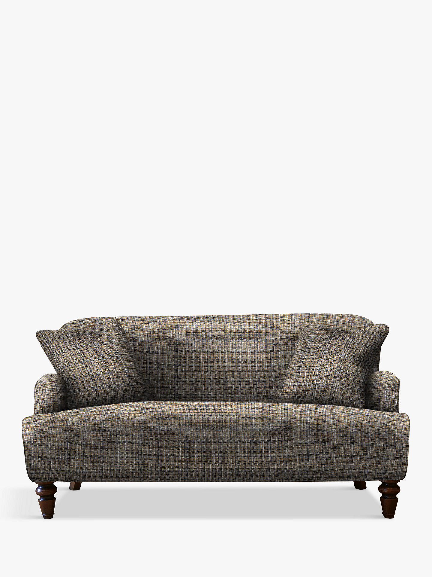 Buy Tetrad Lewis Petite 2 Seater Sofa, Harris Tweed Calluna Atlantic Online at johnlewis.com