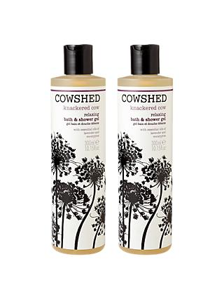 Cowshed Knackered Cow Shower Gel Duo, 2 x 300ml