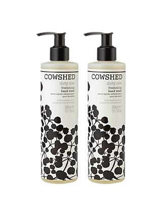 Cowshed Dirty Cow Hand Wash Duo, 2 x 300ml