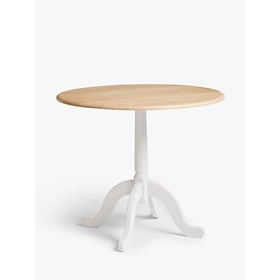 John Lewis & Partners Clayton 2-4 Seater Drop Leaf Dining Table, FSC-Certified (Oak)