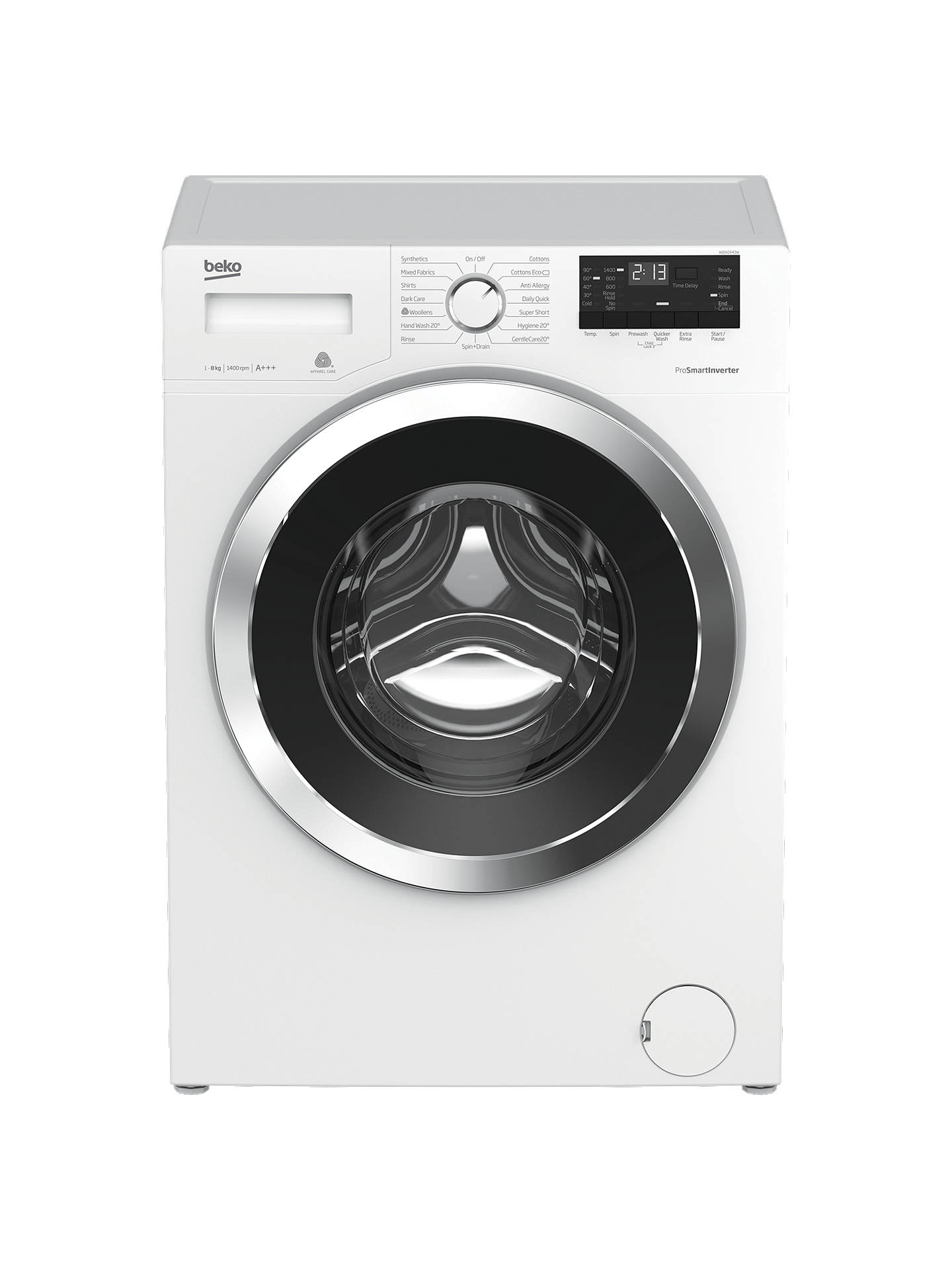 Beko Wj842443w Washing Machine 8kg A Energy Rating White At Hugo Women Kw Super Buybeko Online Johnlewis