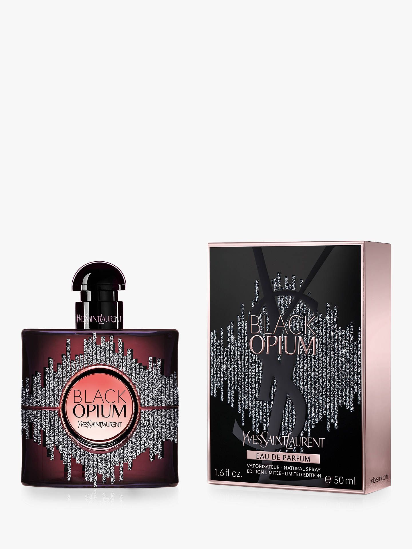 BuyYves Saint Laurent Black Opium Sound Illusion Eau de Parfum, 50ml Online at johnlewis.com
