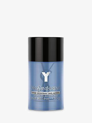 Yves Saint Laurent Y For Men Alcohol-Free Deodorant Stick, 75g