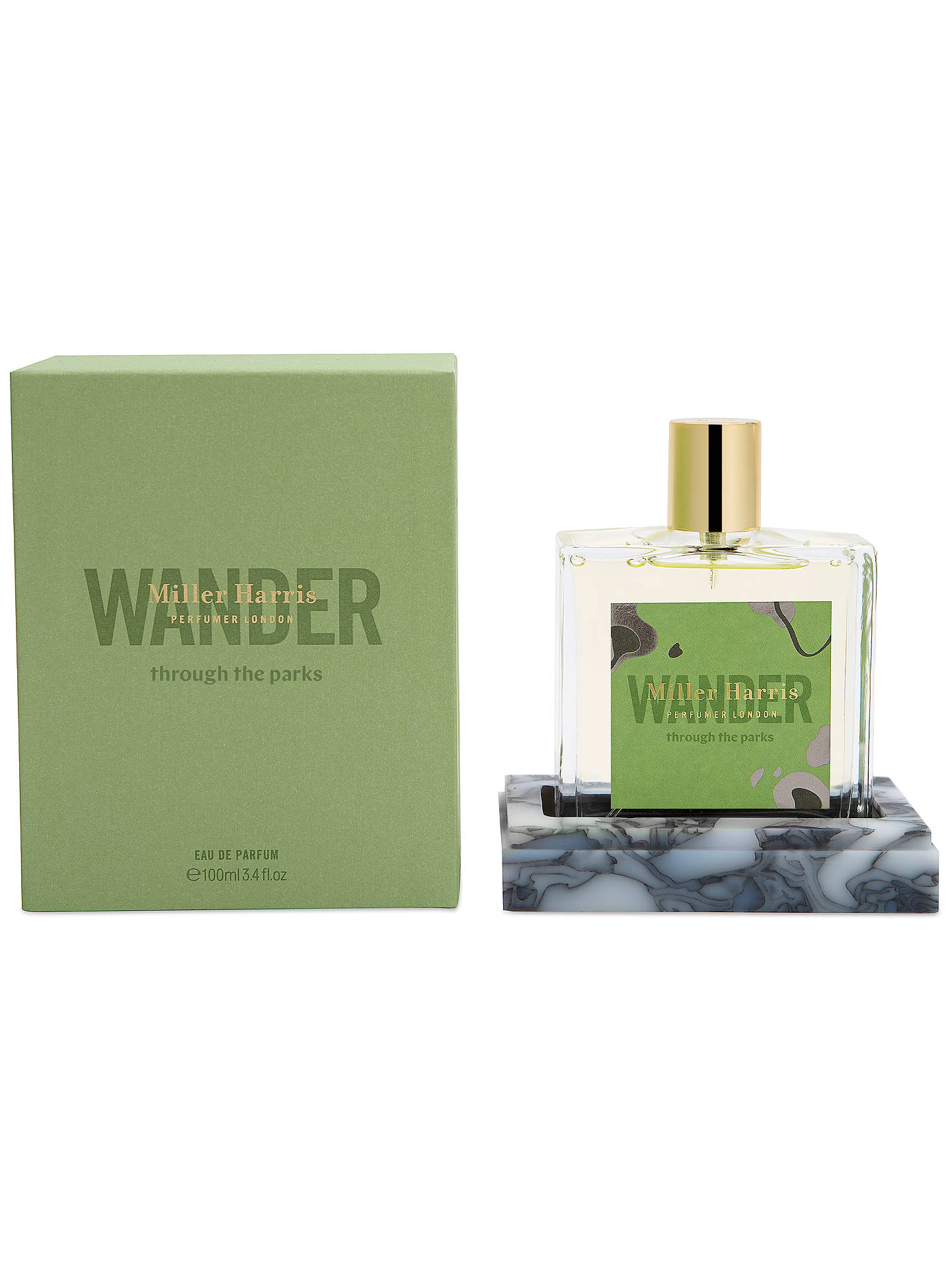 BuyMiller Harris Wander Through The Parks Eau de Parfum, 100ml Online at johnlewis.com