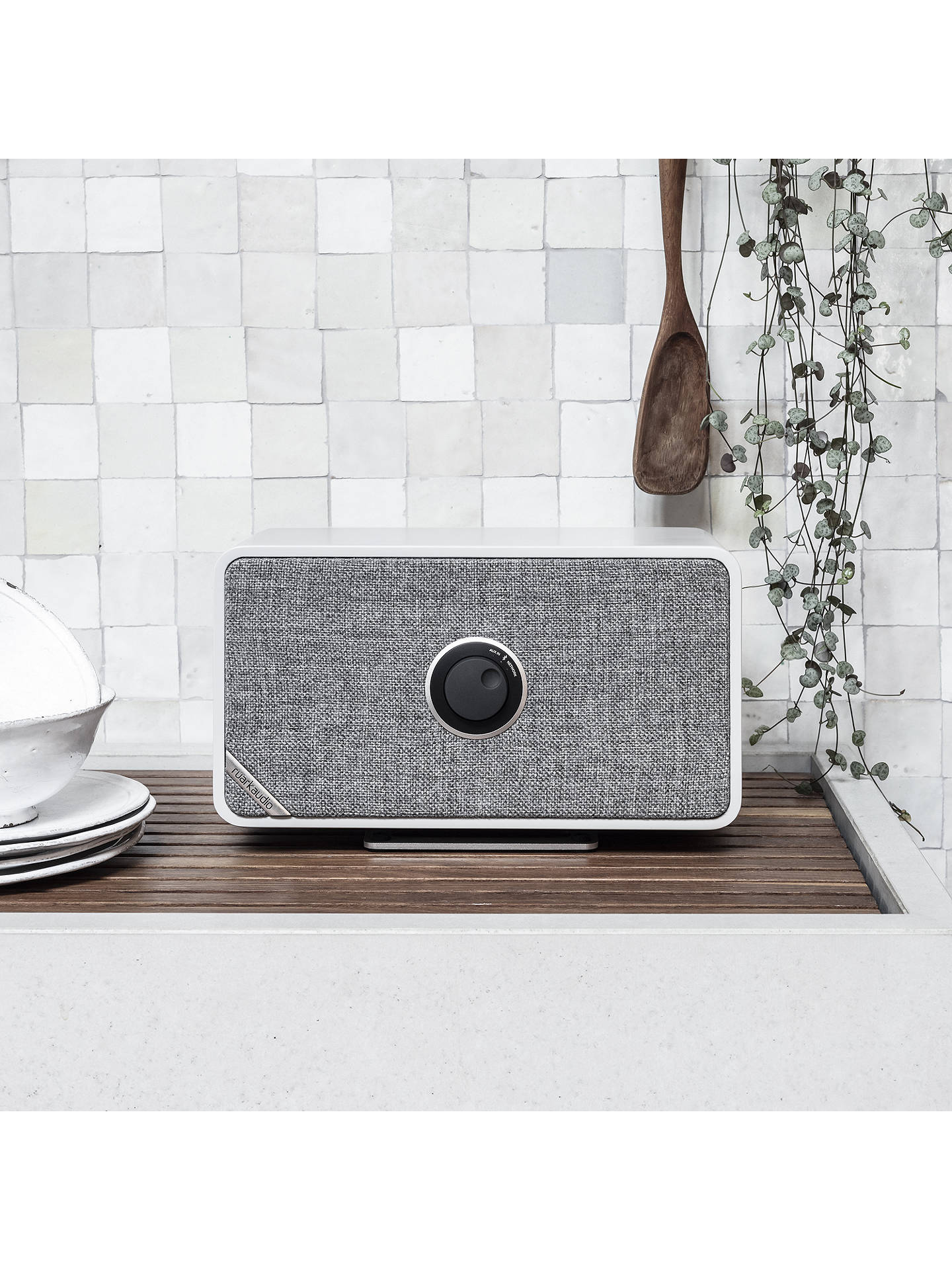 Buy Ruark MRx Bluetooth Wi-Fi Connected Wireless Speaker, Soft Grey Online at johnlewis.com