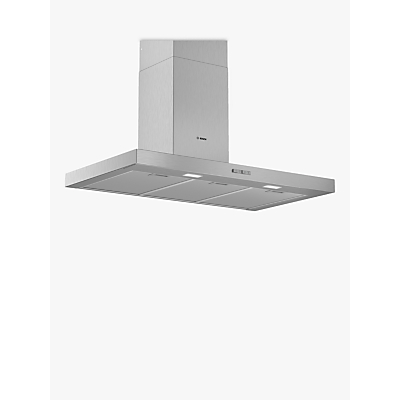 Image of Bosch DWB94BC50B Box Chimney Cooker Hood, Stainless Steel