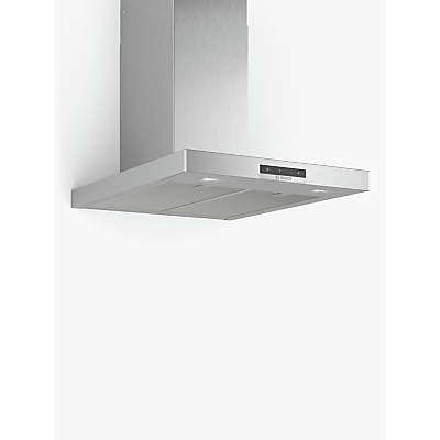 Image of Bosch DWB66DM50B Box Chimney Cooker Hood, Brushed Steel