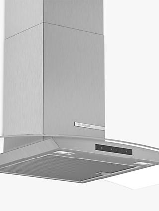 Bosch DWA96DM50B Chimney Cooker Hood, Brushed Steel / Glass