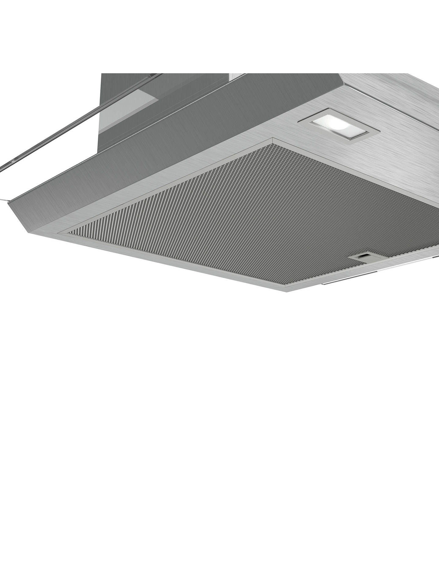 Buy Bosch DWA66DM50B Chimney Cooker Hood, Brushed Steel / Glass Online at johnlewis.com