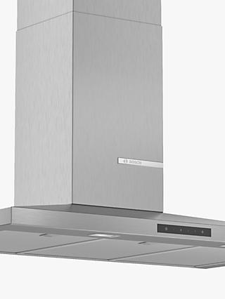 Bosch DWQ96DM50B 90cm Pyramid Chimney Cooker Hood, A Energy Rating, Stainless Steel