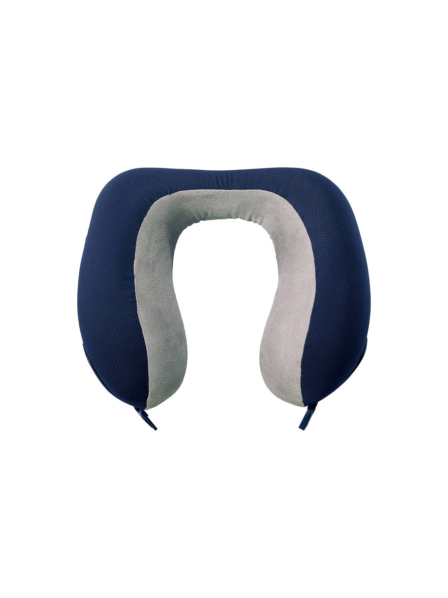 Buy Go Travel 2 Memory Dreamer Pillow, Grey Online at johnlewis.com