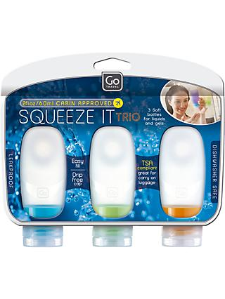 Go Travel Squeeze It Cabin Approved Soft Bottles