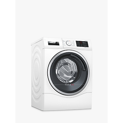 Image of Bosch WDU28560GB Freestanding Washer Dryer, 10kg Wash/6kg Dry Load, A Energy Rating, 1400rpm Spin, White