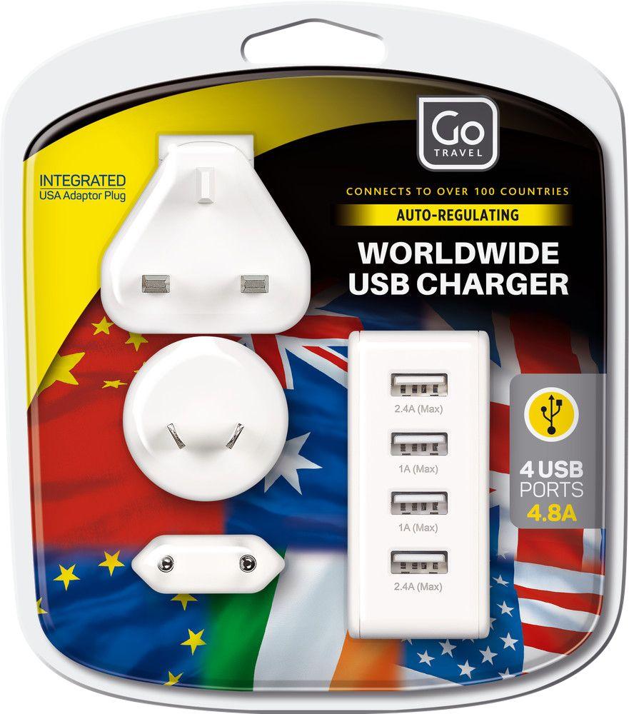 Go Travel Go Travel Worldwide USB Charger
