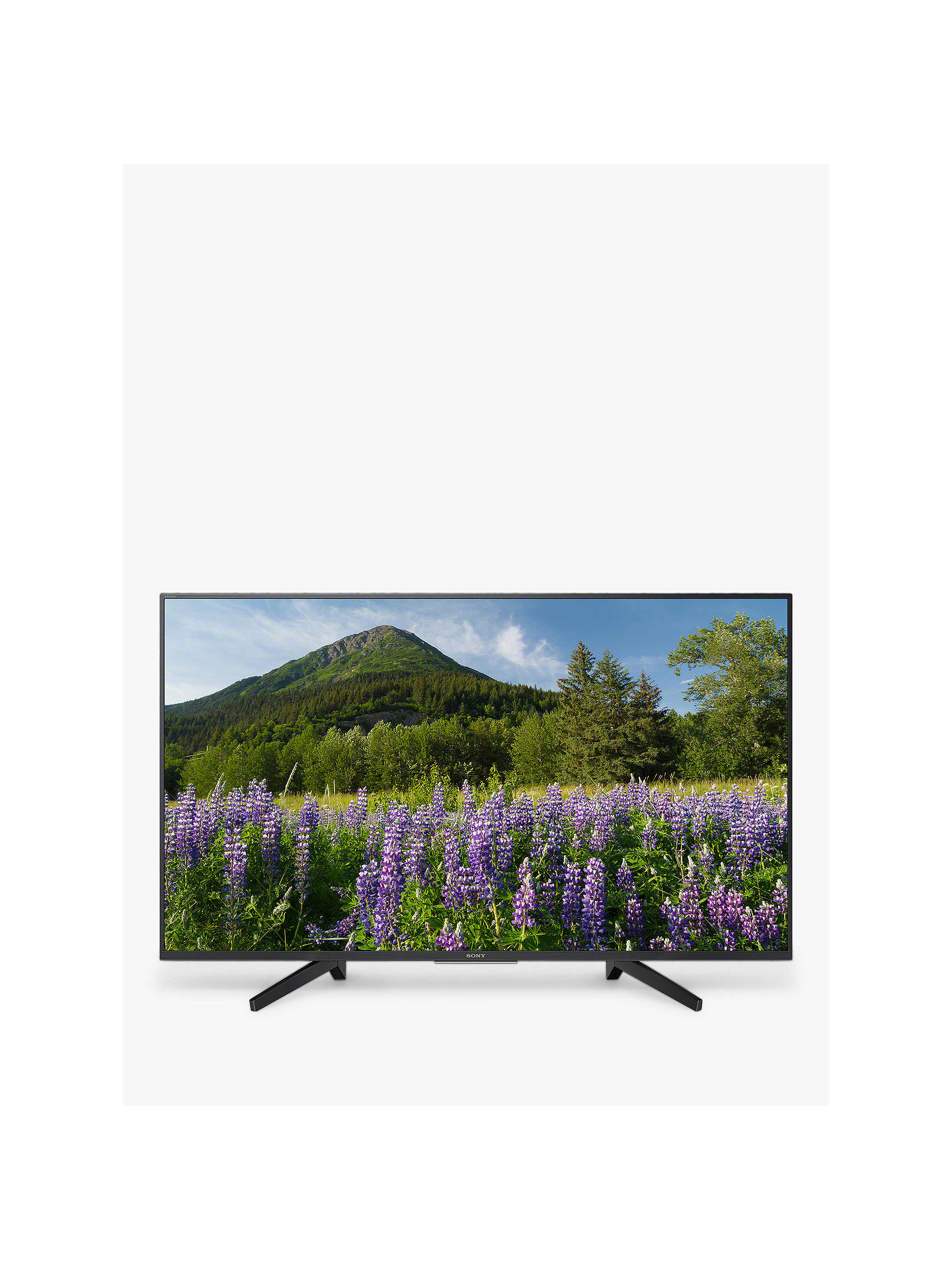 Sony Bravia KD43XF7093 LED HDR 4K Ultra HD Smart TV, 43