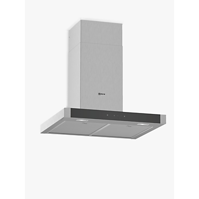 Image of NEFF D64BHM1N0B Chimney Cooker Hood - Stainless Steel, Stainless Steel
