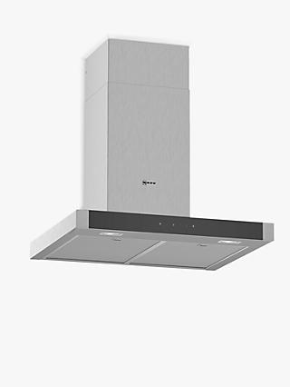 Neff D64BHM1N0B Chimney Cooker Hood, Stainless Steel
