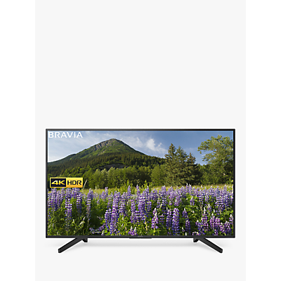 Sony Bravia KD65XF7093 LED HDR 4K Ultra HD Smart TV, 65 with Freeview Play & Cable Management, Black