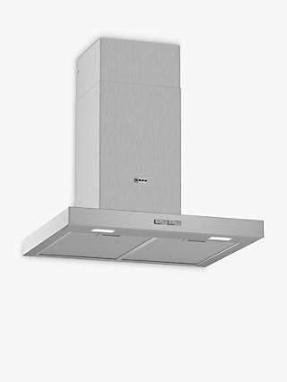Neff D62BBC0N0B Chimney Cooker Hood, Stainless Steel