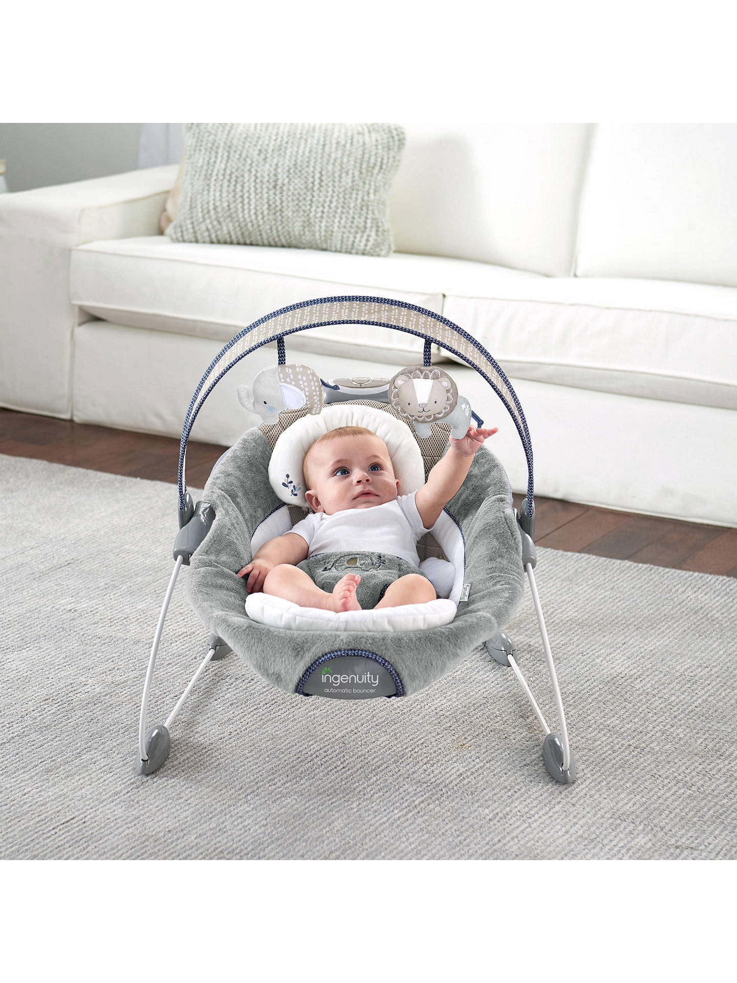 Ingenuity Smartbounce Townsend Bouncer At John Lewis Partners