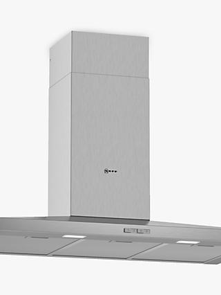 Neff D92QBC0N0B Chimney Cooker Hood, Stainless Steel
