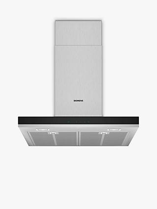 Siemens LC67BHM50B Chimney Cooker Hood, Glass/Stainless Steel