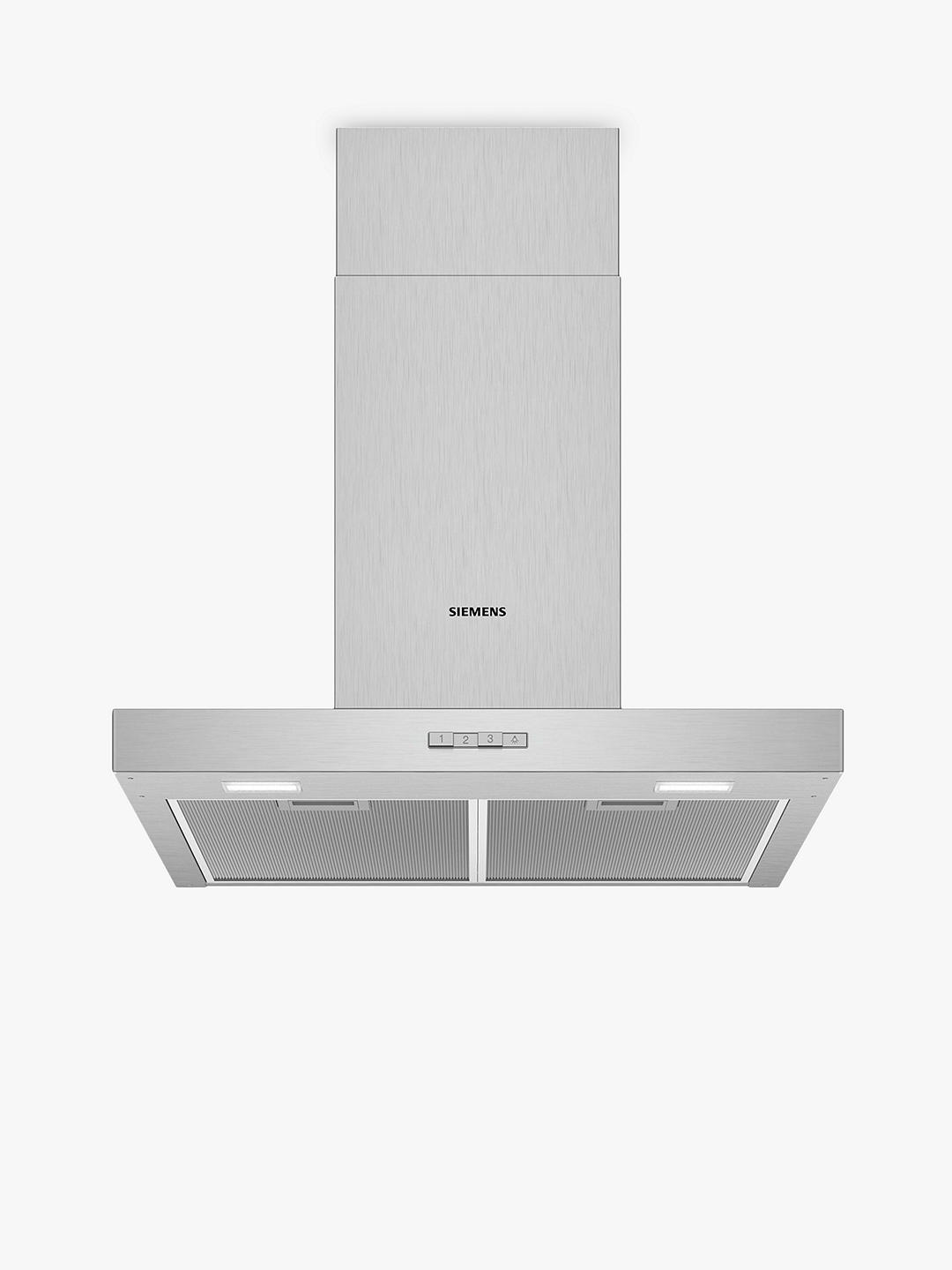 Buy Siemens LC64BBC50B Chimney Cooker Hood, Stainless Steel Online at johnlewis.com