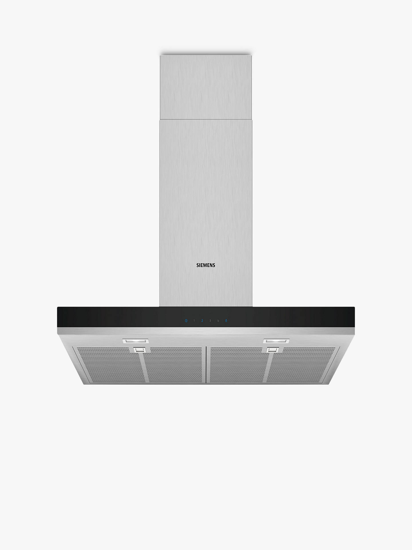 BuySiemens LC77BHM50B Chimney Cooker Hood, Stainless Steel Online at johnlewis.com