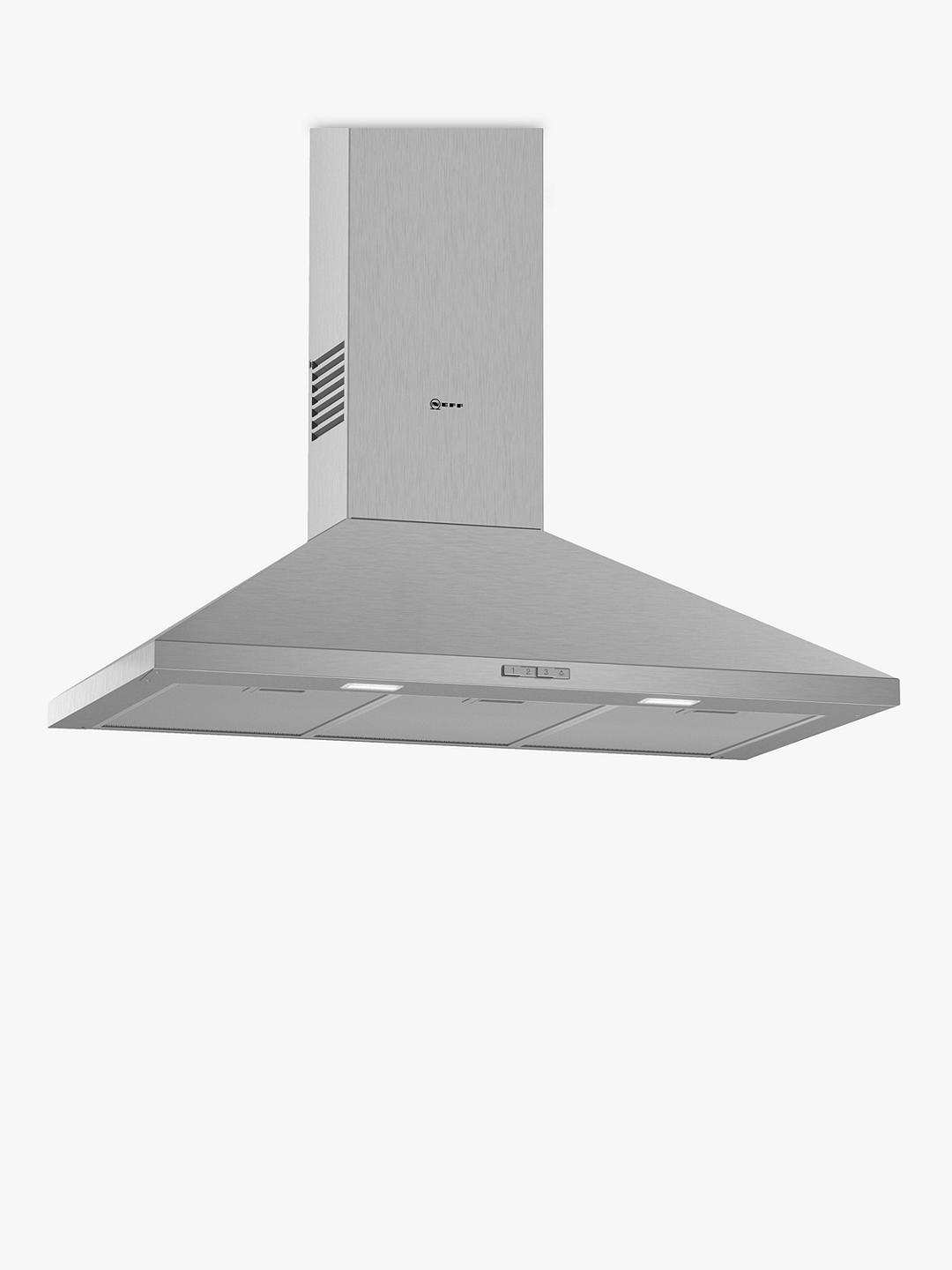 Buy Neff D92PBC0N0B Chimney Cooker Hood, Stainless Steel Online at johnlewis.com