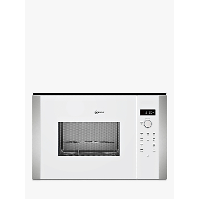 Image of Neff HLAWD53W0B Built-In Microwave, White