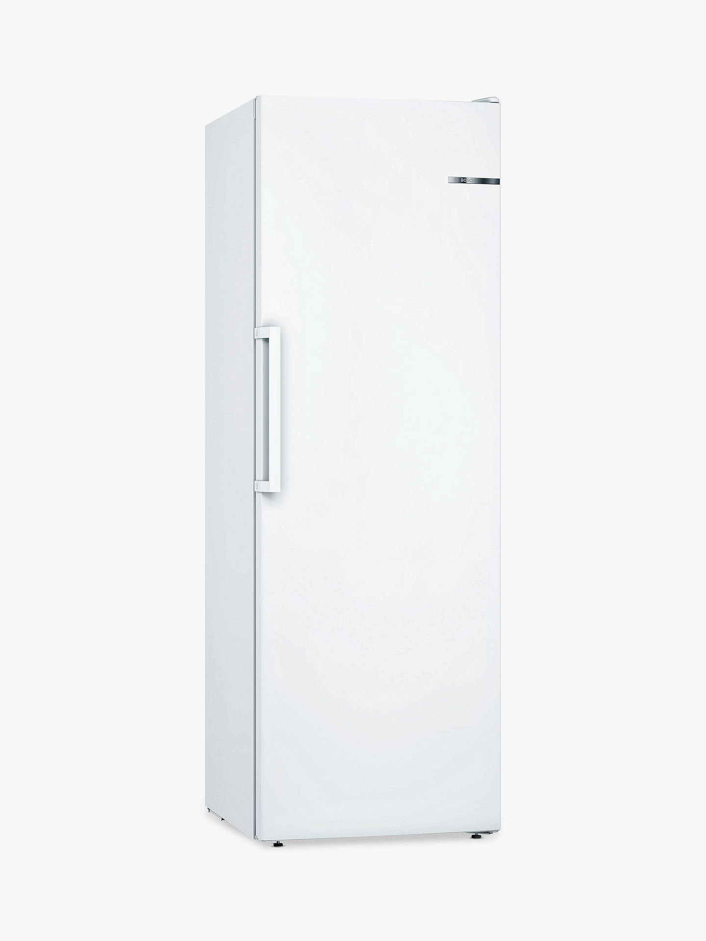 BuyBosch GSN33VW3PG Tall Freezer, A++ Energy Rating, 60cm Wide, White Online at johnlewis.com