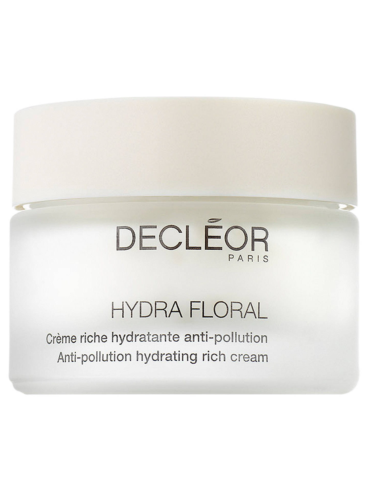 decleor hydra floral rich cream