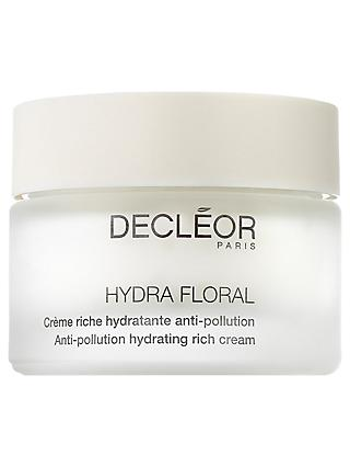 Decléor Hydra Floral Anti-Pollution Hydrating Rich Cream, 50ml
