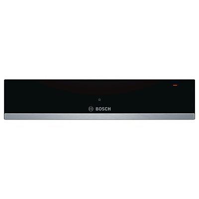 Image of Bosch BIC510NS0B 14cm High Warming Drawer - Stainless Steel