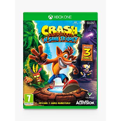 Image of Crash Bandicoot N. Sane Trilogy, Xbox One