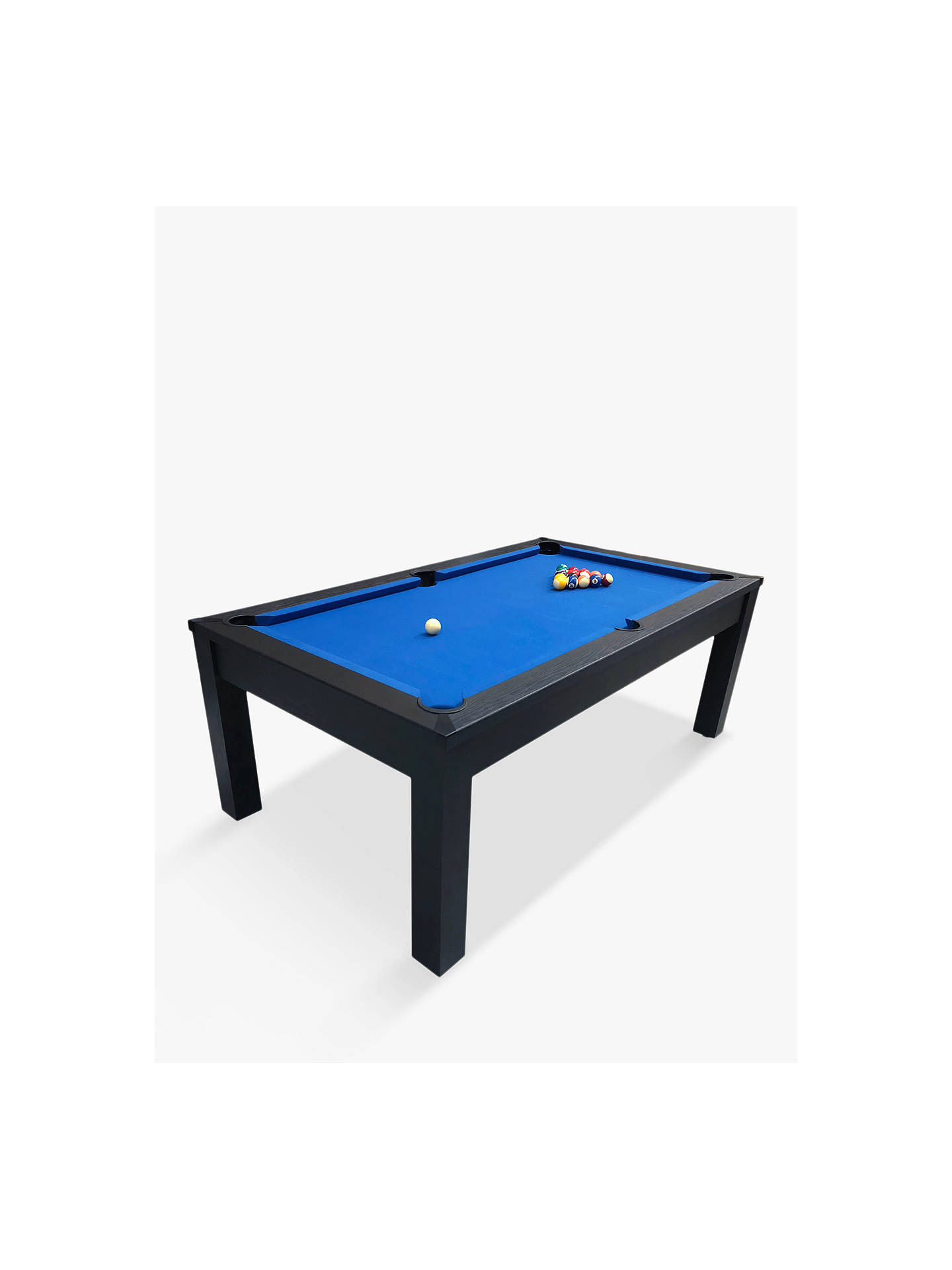 BuyBCE Riley 7ft Semi Pro Pool Table, Black/Blue Online at johnlewis.com