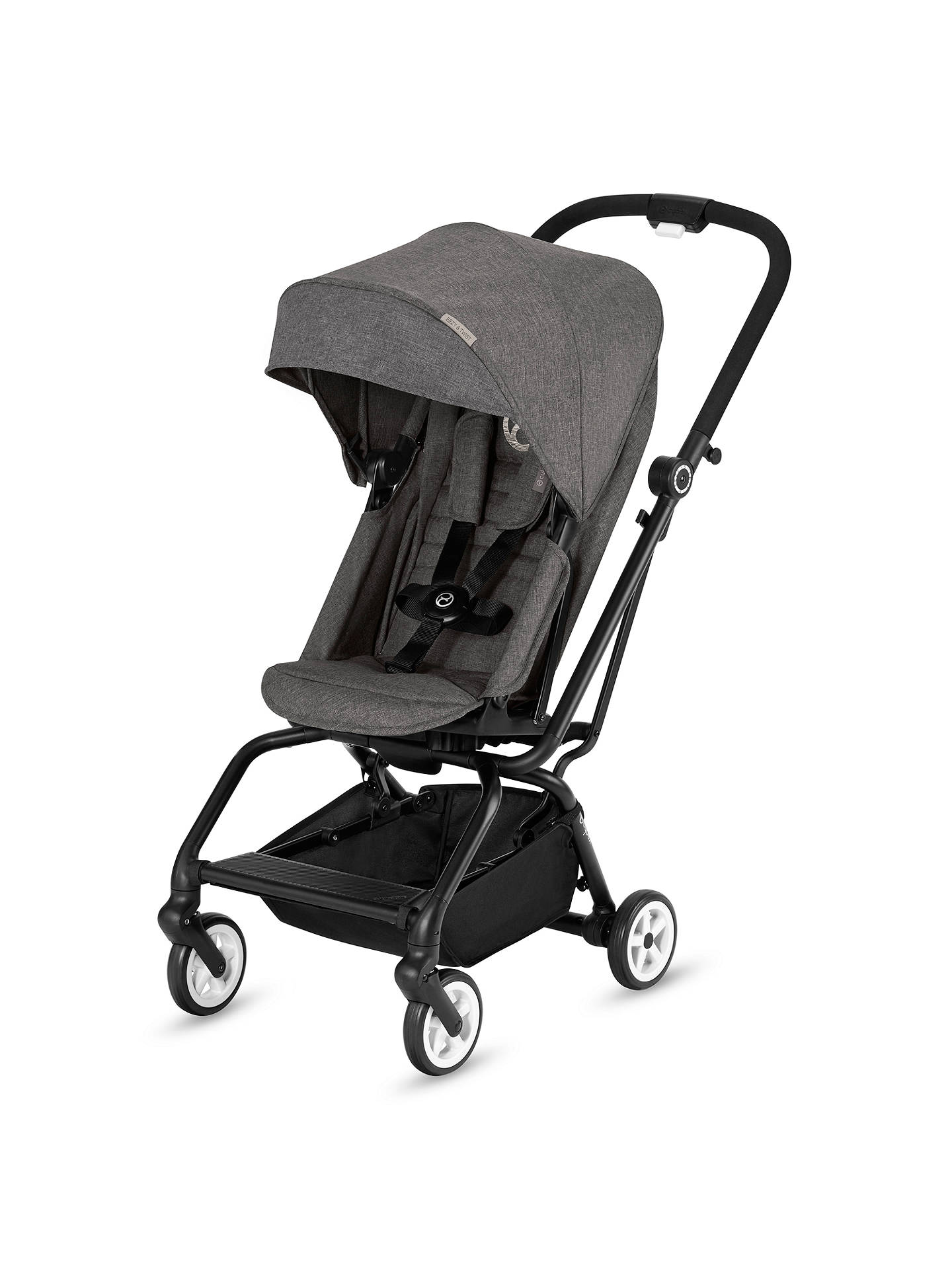 Buy Cybex Eezy S Twist Puschair, Grey Online at johnlewis.com
