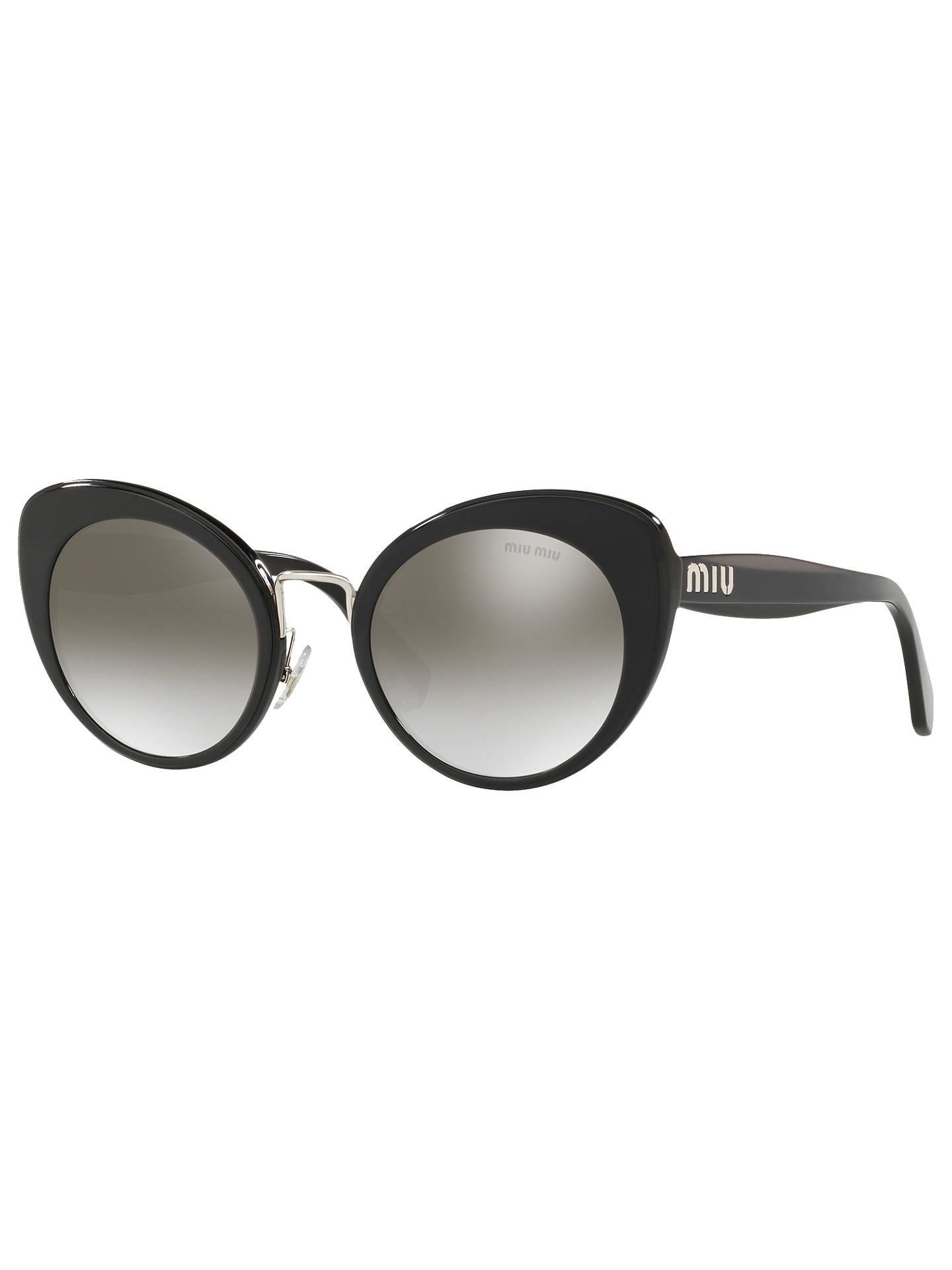 95316ed796c3 Buy Miu Miu MU 06TS Women s Cat s Eye Sunglasses