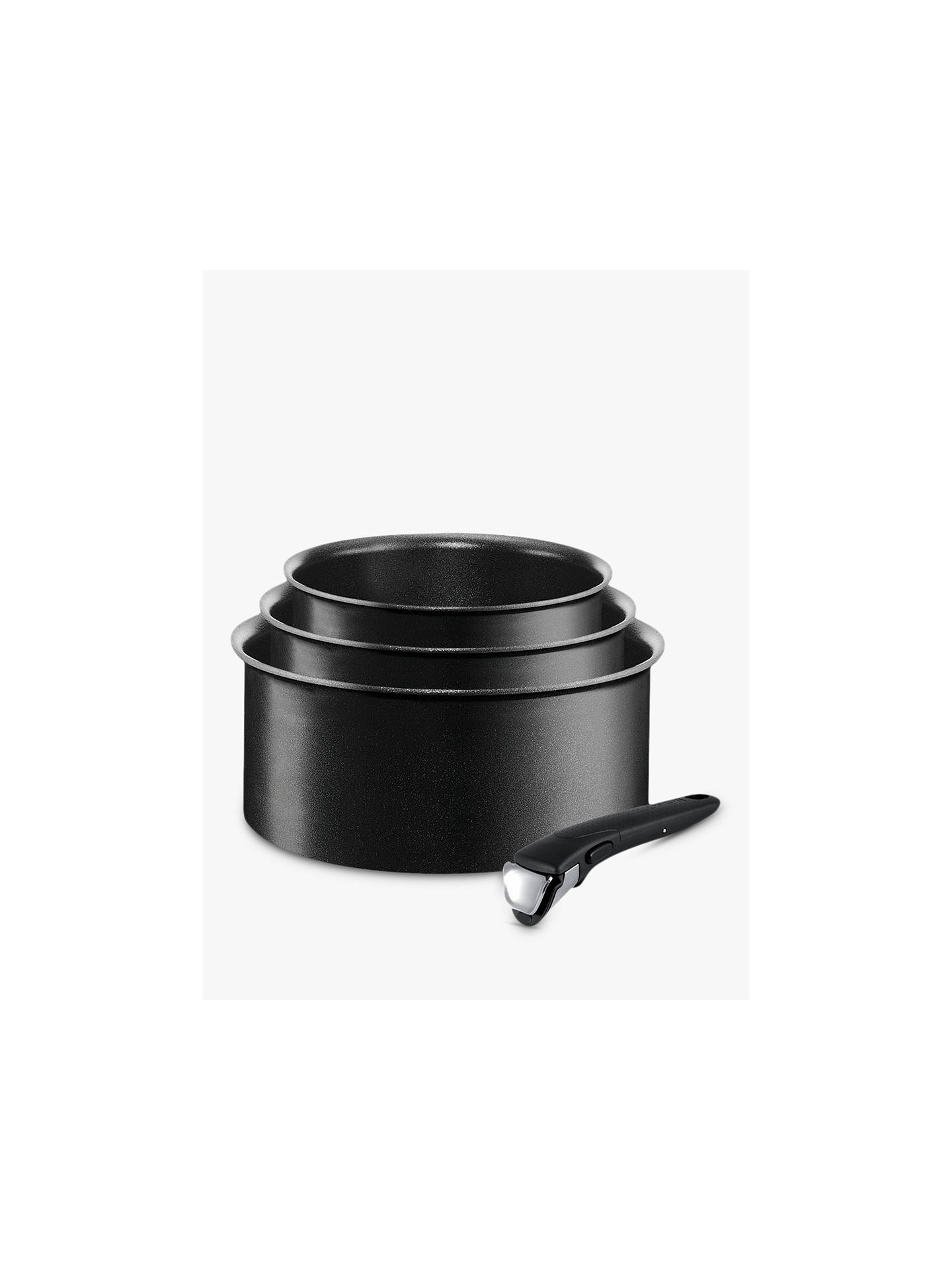 Buy Tefal Ingenio Expertise Non-Stick Saucepan Set, 4 Piece Online at johnlewis.com